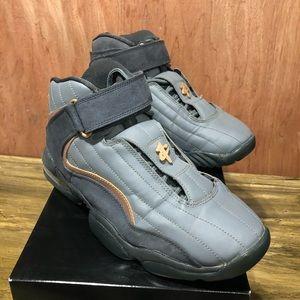 Nike Air Penny IV 4 Wolf Grey Metallic Copper